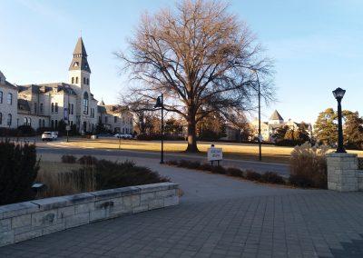 2 Widok na część kampusu