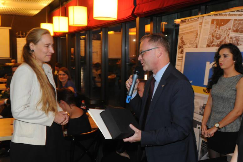 Nagroda specjalna 7 edycji plebiscytu Opolski Hipokrates przyznana Dr Emilii Lichtenberg-Kokoszce