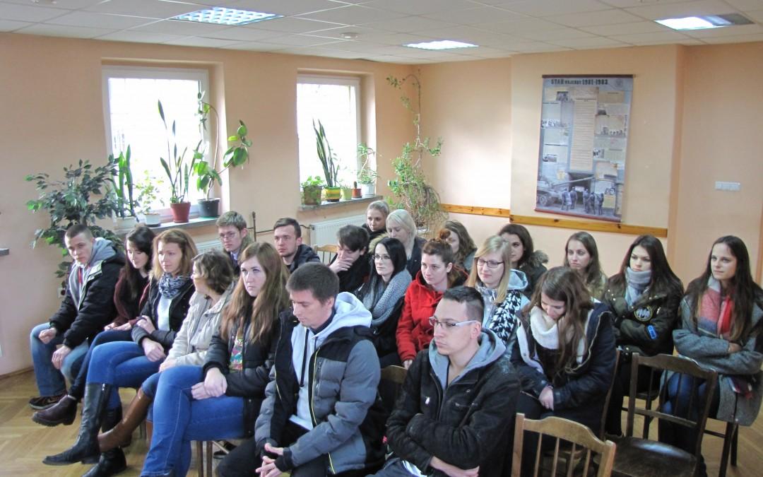 Wizyta opolskich Żaków w więzieniu