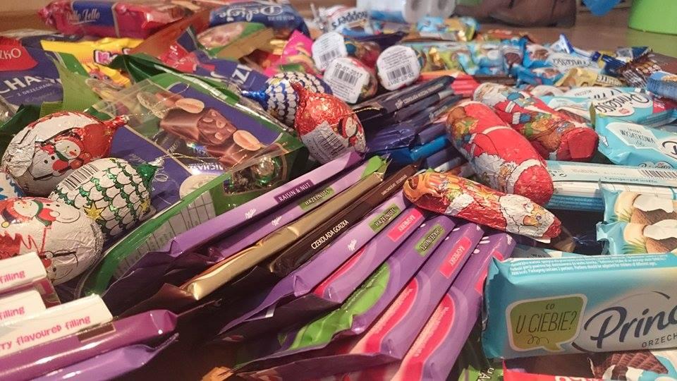 Świąteczna zbiórka słodyczy