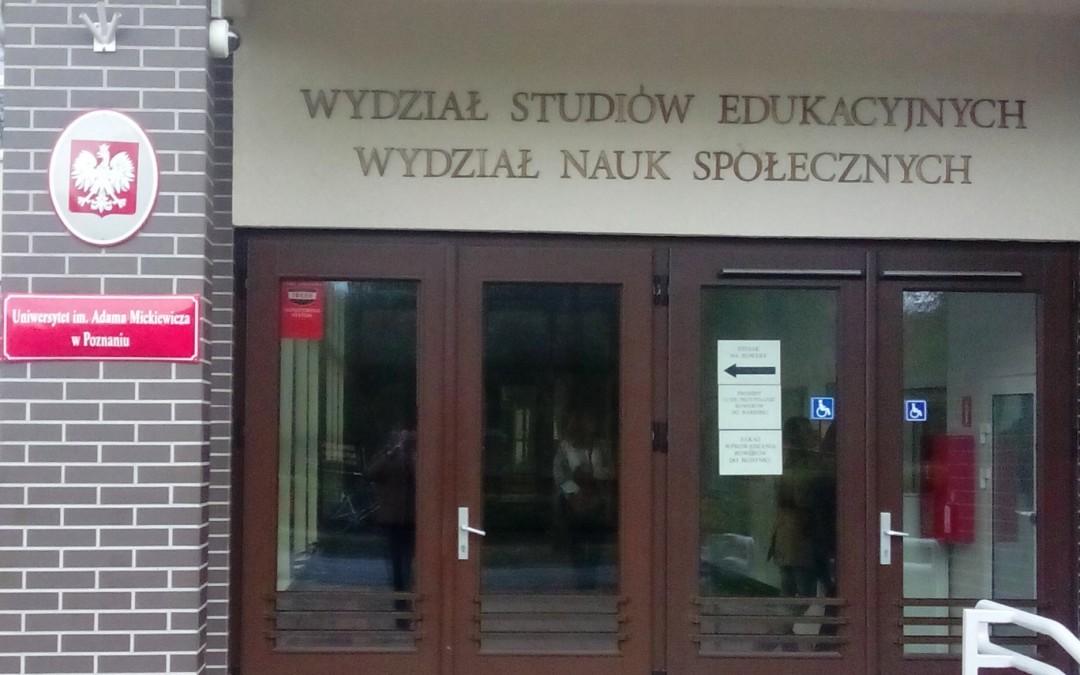 """Opolska resocjalizacja z """"Dwóch Światów"""" w Uniwersytecie im. Adama Mickiewicza w Poznaniu"""