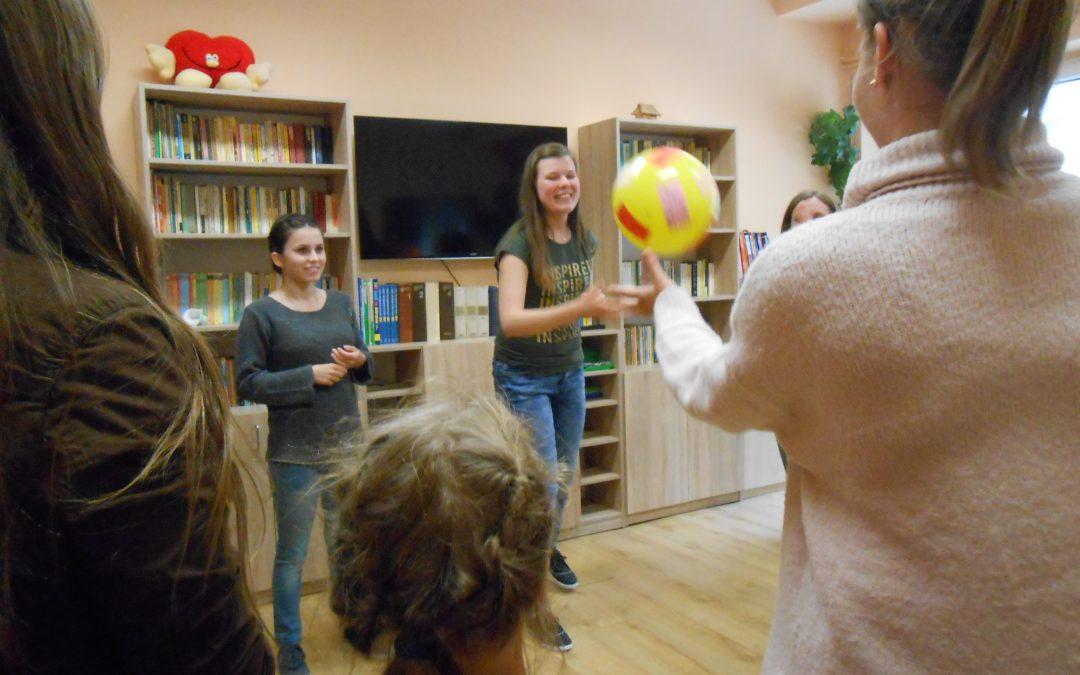 Warsztaty edukacyjno-integracyjne w Domu Dziecka