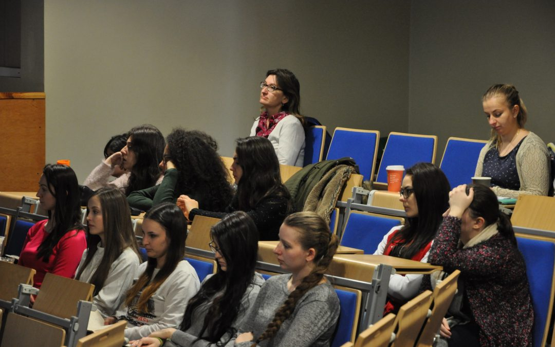 Wizyta amerykańskiej wykładowczyni w ramach programu Erasmus+